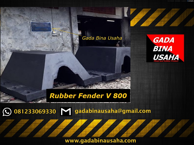rubber fender V 800