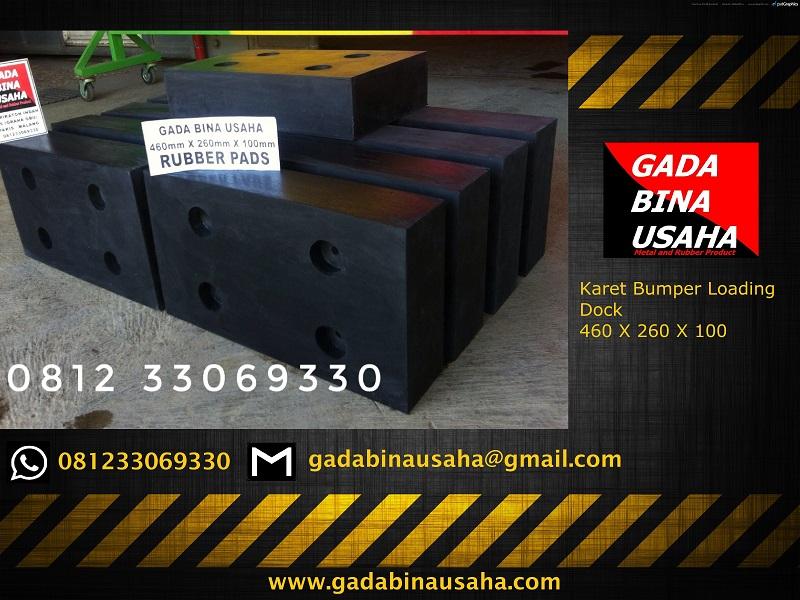 karet bumper kotak 460 X 260 X 100